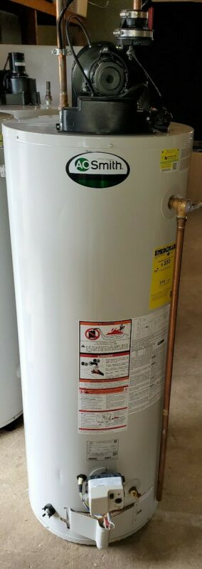 AO Smith GPVT50200 Gas Water Heater 50gallon W/ Power Vent