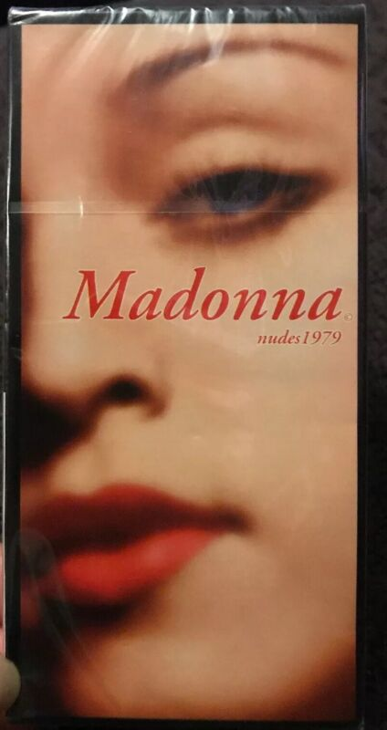 Madonna Nudes 1979 Promotional Condoms NEW/SEALED