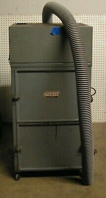 Torit Dust Collector Model 64 With 34 Hp Motor 3 Hose Fitting On Wheels
