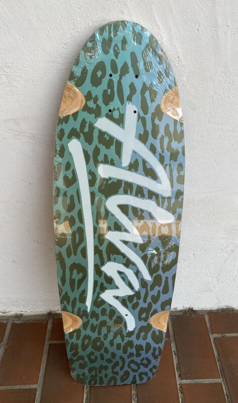 Tony Alva Skateboard Deck Leopard Sealed New Alva Skateboards
