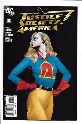 Dc Comics  Jsa  Issue 8  Direct Sales  2005  9 6  Near Mint Condition