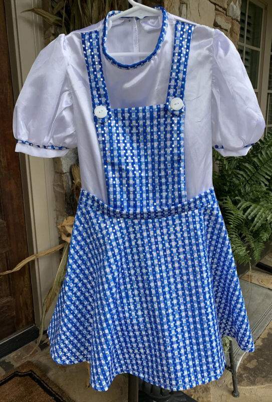 The Wizard Of Oz Dorthy Costume Childs Size Medium Ruby's Costume Co