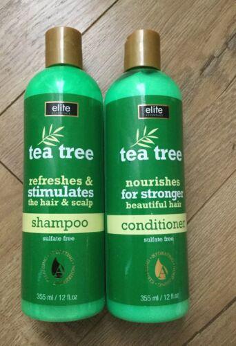 Elite Essentials Tea Tree Oil Shampoo and Tea Tree Oil Condi