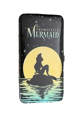 Disney The Little Mermaid Ariel Night Girl's Hinge Wallet Black Hot Topic  - Z21