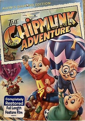 The Chipmunk Adventure (DVD, 2014) Brand New with Slip cover!