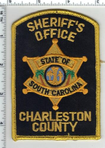 Charleston County Sheriff (South Carolina) 3rd Issue Uniform Take-Off Patch