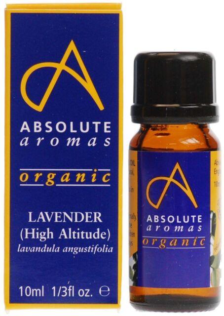 Absolute Aromas Organic Lavender High Altitude Oil 10ml