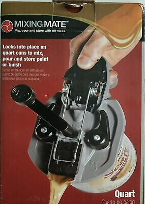 Paint Or Finish Mixer Mixing Mate Pour And Store With No Mess New Size Qt