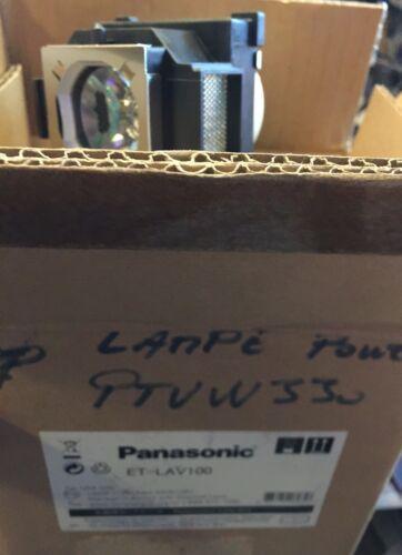 Lampe vidéo projecteur panasonic et-lav100 original lamp panasonic pour ptw330