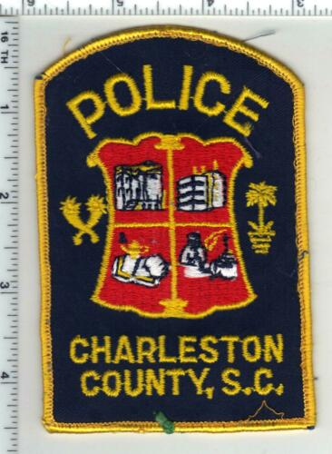 Charleston County Police (South Carolina) 2nd Issue Uniform Take-Off Patch