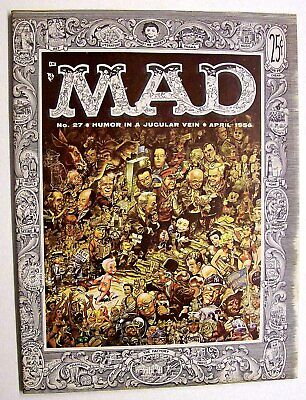 JOHNNY CRAIG FILE COPY MAD MAGAZINE #27 WOOD-DAVIS-ELDER-
