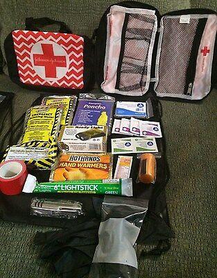 Emergency Survival Kit Tornado Disaster Safety Kit Boating Camping Hurricane EMP
