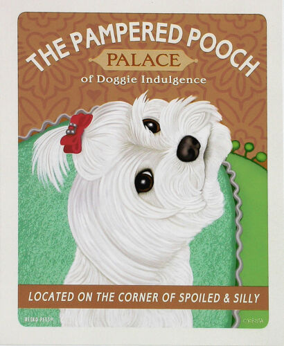 Retro Pets by Krista Brooks-Maltese The Pampered Pooch 8x10 Print