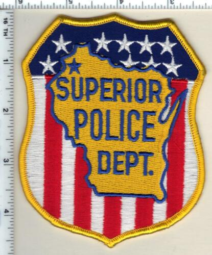 Superior Police (Wisconsin) 2nd Issue Shoulder Patch from 1991