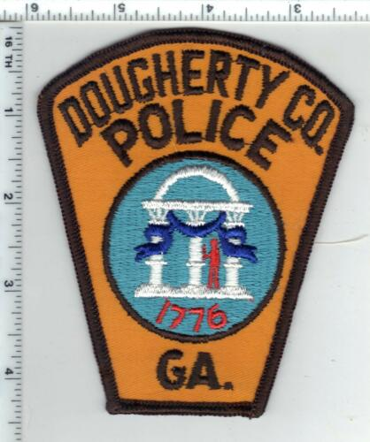 Dougherty County Police (Georgia) 2nd Issue Shoulder Patch