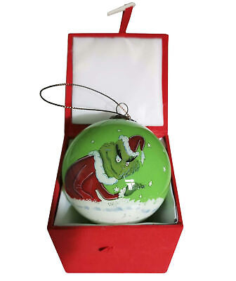 Grinch Merry Grinchmas Christmas Tree Bauble Green GIFT IDEA - FREE UK POSTAGE ()