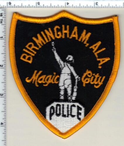 Birmingham Police (Alabama) Shoulder Patch - New from 1989