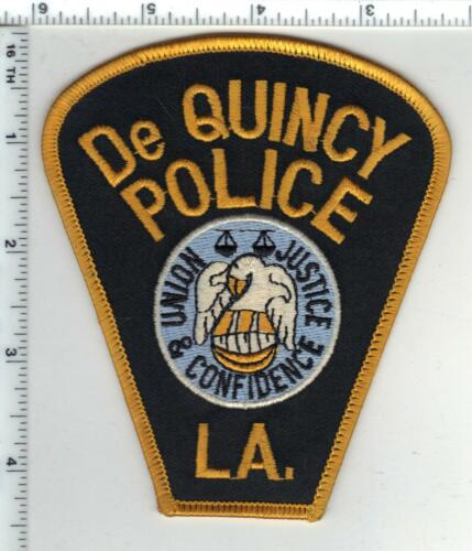 De Quincy Police (Louisiana) Shoulder Patch - new from the 1980