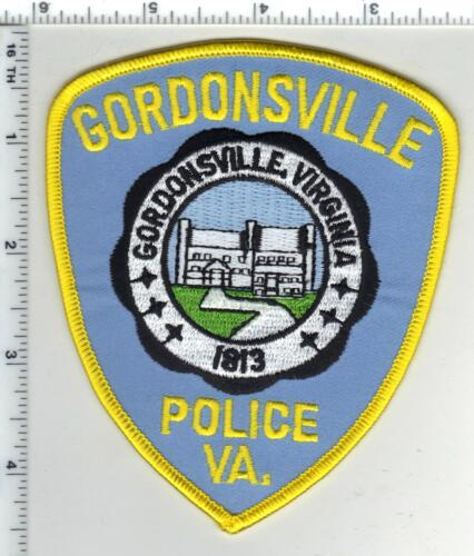 Gordonsville Police (Virginia) 2nd Issue Shoulder Patch