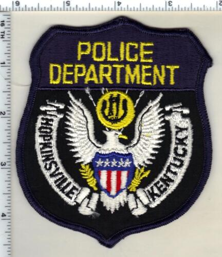 Hopkinsville Police (Kentucky) 1st Issue Shoulder Patch