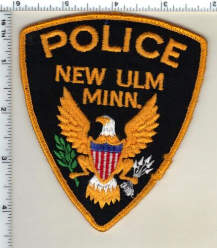 New Ulm Police (Minnesota)  Shoulder Patch  - new from 1991