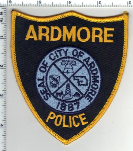 Ardmore Police (Oklahoma) 3rd Issue Shoulder Patch