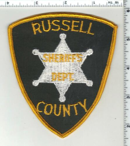 Russell County Sheriff (Alabama) 1st Issue Shoulder Patch