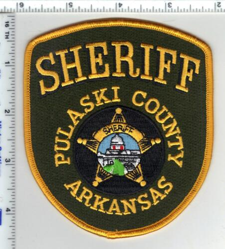 Pulaski County Sheriff (Arkansas) Shoulder Patch - new
