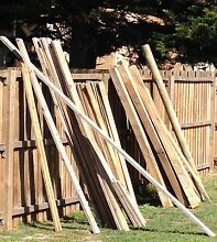 Treated pine fence material The Entrance Wyong Area Preview