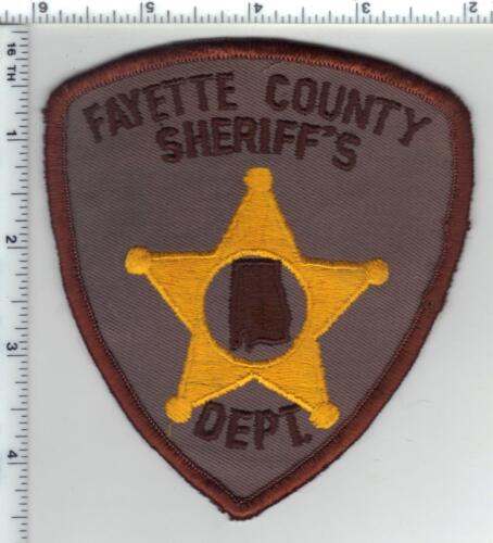 Fayette County Sheriff (Alabama) 1st Isssue Shoulder Patch