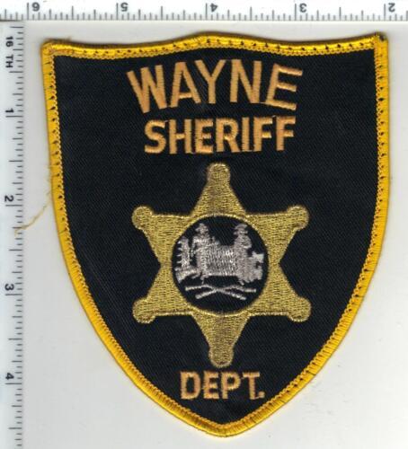 Wayne Sheriff Dept. (West Virginia) 1st Issue Uniform Take-Off Shoulder Patch
