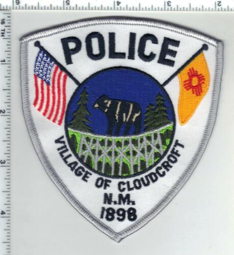 Village of Cloudcroft Police (New Mexico) 1st Issue Shoulder Patch