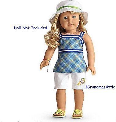 American Girl Lanie Garden Outfit NIB Limited Edition Retired segunda mano  Embacar hacia Argentina