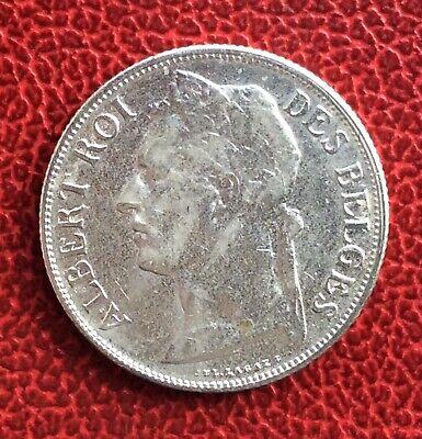 Congo Belge - Très Jolie  monnaie de 1 Franc 1920 Fr