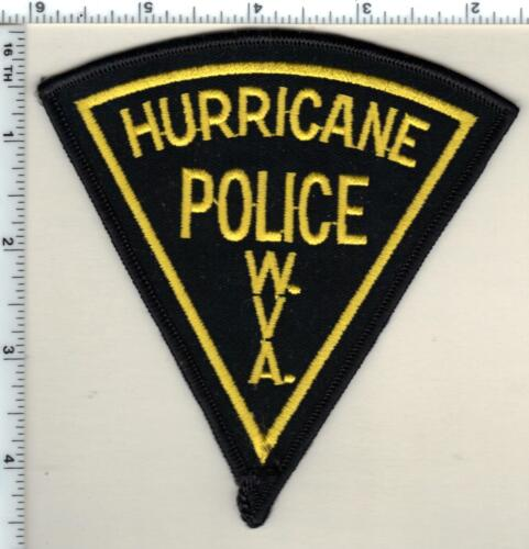 Hurricane Police (West Virginia) 2nd Issue Shoulder Patch
