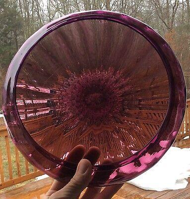Steuben Art Glass Purple Amethyst Bowl