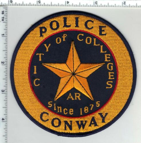 Conway Police (Arkansas) 3rd Issue Shoulder Patch