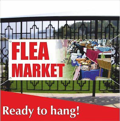 Flea Market Banner Vinyl / Mesh Banner Sign Market Discount Sale Cheap Wholesale - Vinyl Banners Cheap