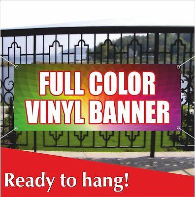 Full Color Vinyl Banner Banner Vinyl Mesh Banner Sign Custom Name Personalized