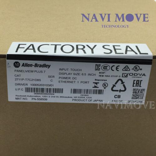 2021 NEW SEALED Allen-Bradley PanelView Plus 7 Standard 700 2711P-T7C21D8S HMI