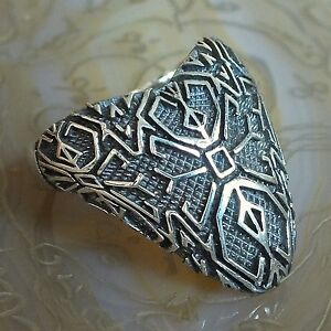 925 sterling silver archer s thumb ring unique turkish