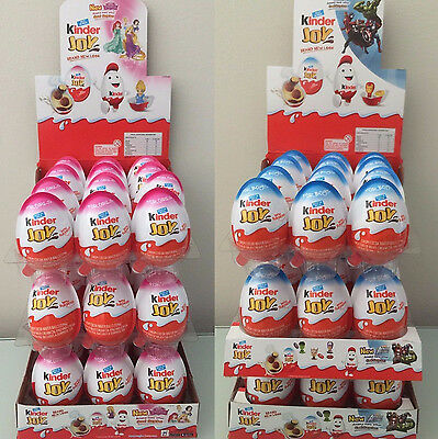 New Kinder Joy Surprise Eggs In Toy   Chocolate For Boys   Girls Expedited Ship
