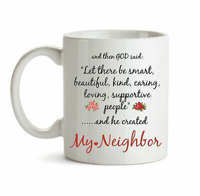 Neighbor Gift For Neighbor Mug For Neighbor Christmas Gift For Neighbors Gifts ()