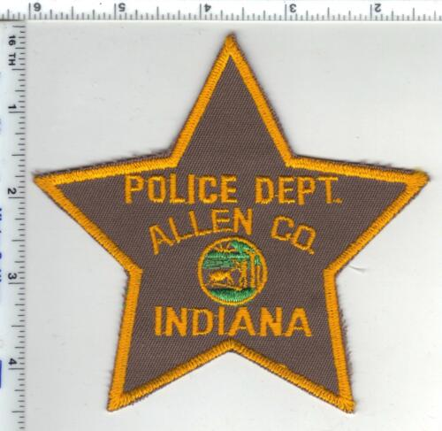 Allen County Police (Indiana) Shoulder Patch - new from the Early 1980s