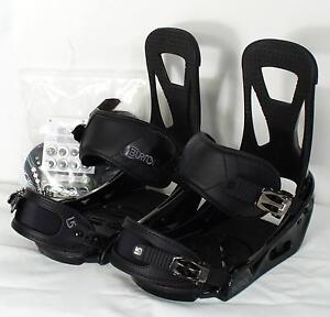 new BURTON FREESTYLE SNOWBOARD BINDINGS LG 2013 BLACK LARGE