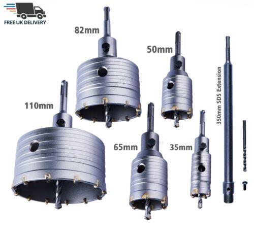 TCT Core Drill 35-110mm Shank Tungsten Masonry Brick Hole Cutter Bit SDS PLUS