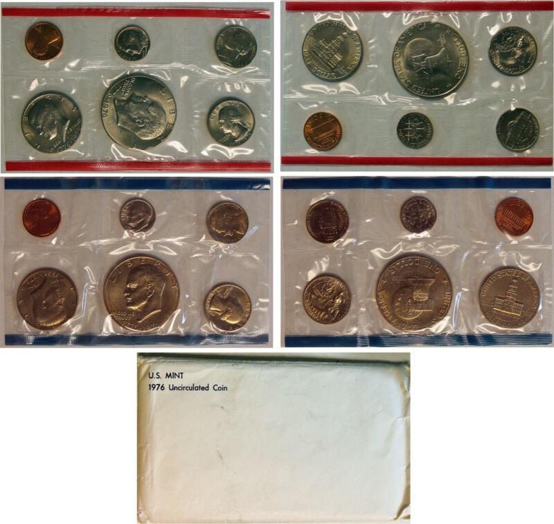 1976 US Mint Set (OGP) with  Eisenhower Dollar 12 coins