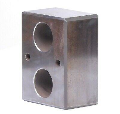 Steel Precision Machinist Hardened Steel Set-up Block Angle Parallel 4hole 8x6x4