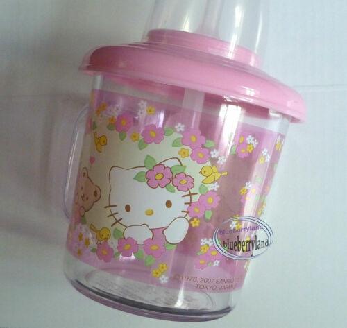 Sanrio HELLO KITTY Baby Training Mug Straw Cup 210ml kids child girls Pink cups