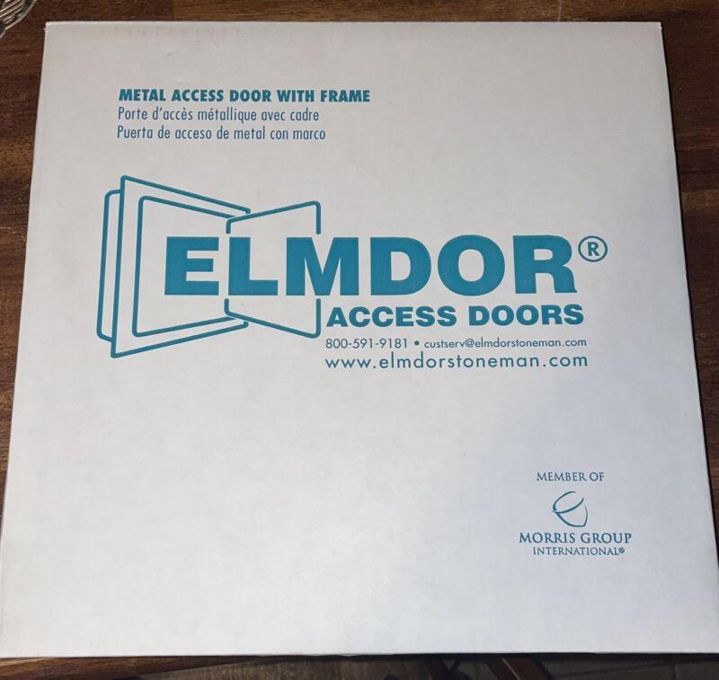Elmdor DW 12x12 PC SD1 Prime coat white screw driver opening steel door